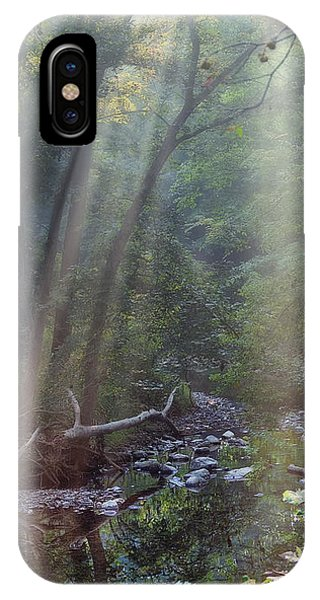Beams iPhone Case - Morning Light by Tom Mc Nemar