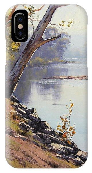 Morning Light Tumut River IPhone Case