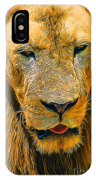 Morning Lion IPhone Case