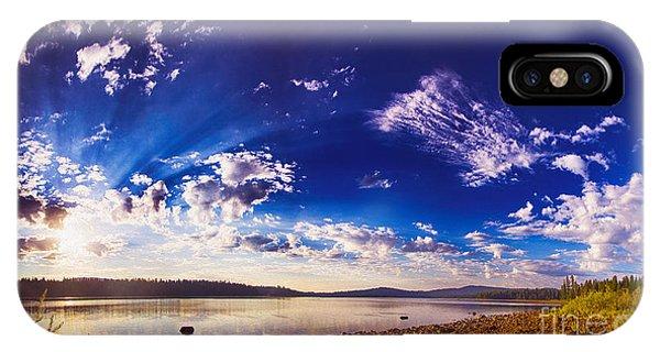 Morning Majesty IPhone Case