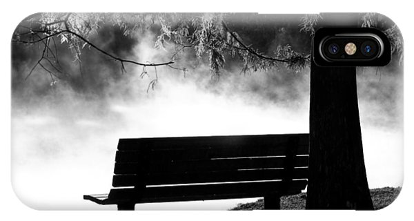 Morning Mist At The Spring IPhone Case