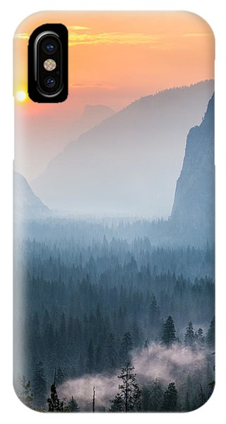 Morning Mist In The Valley IPhone Case