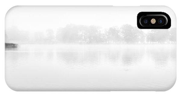 Loch Ard iPhone Case - Morning Mist Loch Ard by Janet Burdon