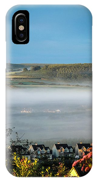 Morning Mist Over Lissycasey IPhone Case