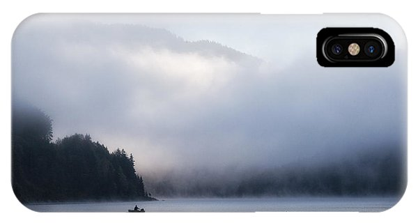 Fog iPhone Case - Morning Mist by Uschi Hermann