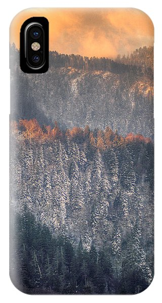 Morning Mountains II IPhone Case