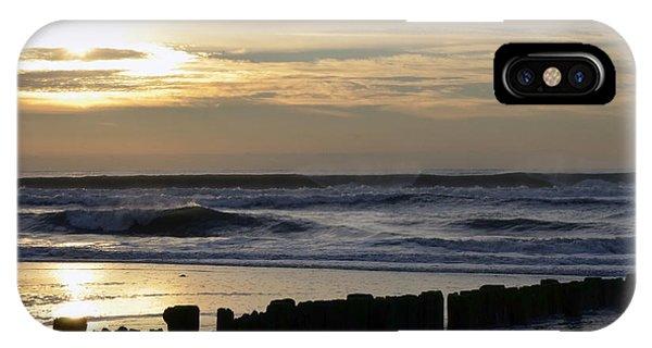 Morning Ocean Rockaway Beach 3 IPhone Case