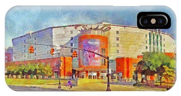 The Schottenstein Center.  The Ohio State University IPhone Case