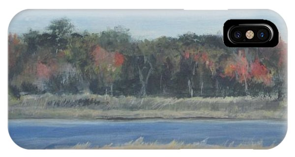 Morning On The Maurice River IPhone Case