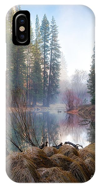 Morning On The Merced IPhone Case