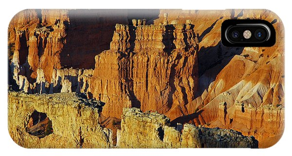 Morning Oranges And Shadows In Bryce Canyon IPhone Case