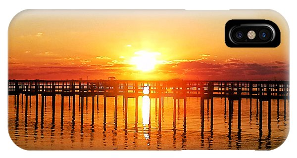 Morning Pier IPhone Case