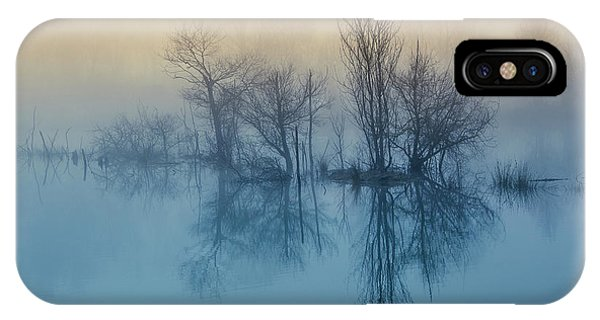 Reflection iPhone Case - Morning Reflection by David Butali