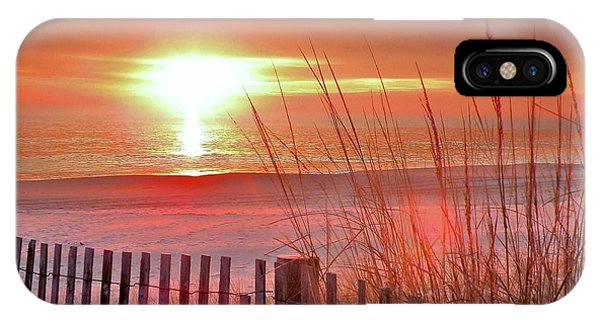 Morning Sandfire IPhone Case