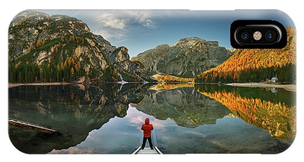 Clear iPhone Case - Morning Silence... by Krzysztof Browko