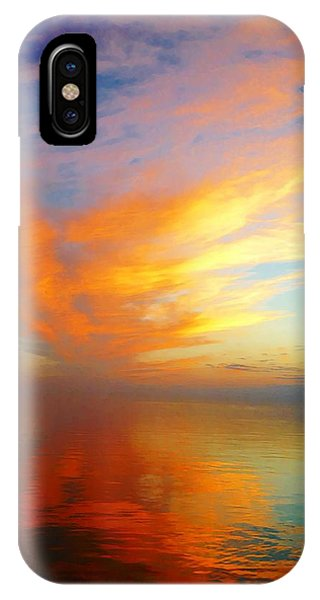 Morning Sky Ocracoke Nc IPhone Case