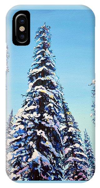 Morning Snow IPhone Case