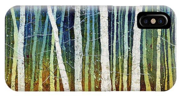 Bird Watercolor iPhone Case - Morning Song 3 by Hailey E Herrera
