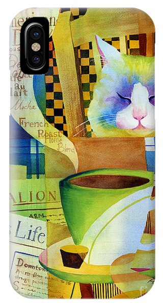 Table iPhone Case - Morning Table by Hailey E Herrera