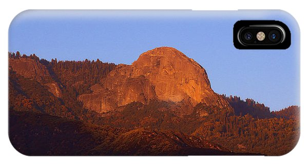 Moro Rock Sequoia National Park IPhone Case
