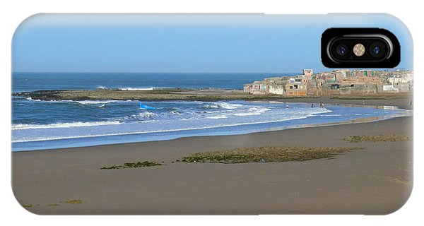 Moroccan Fishing Village IPhone Case