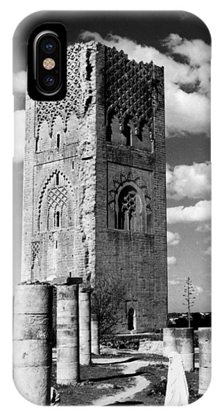 Morocco Hassan Tower IPhone Case