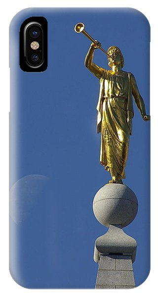 Moroni And The Moon IPhone Case