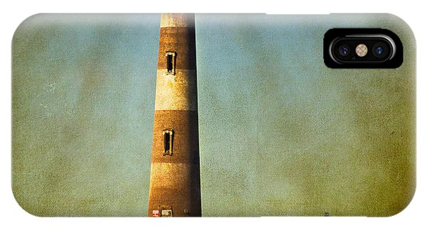 Morris Island Light Color Vintage IPhone Case