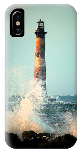 Morris Island Lighthouse IPhone Case