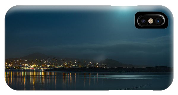 Morro Bay At Night IPhone Case