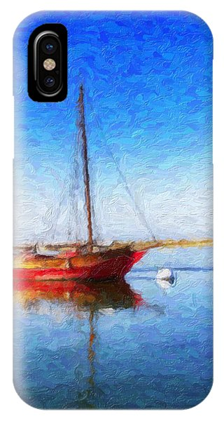 Morro Bay Blue IPhone Case
