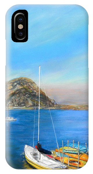 Morro Bay California IPhone Case