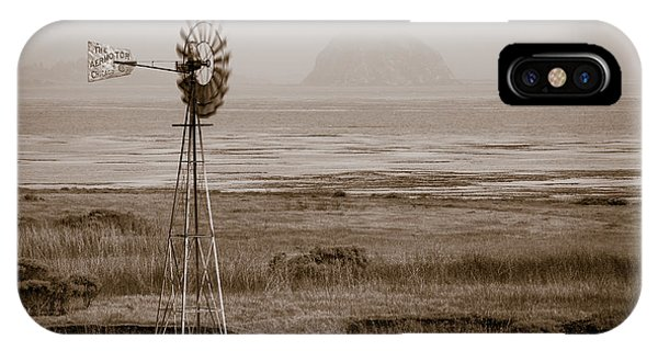 Morro Bay Windmill IPhone Case