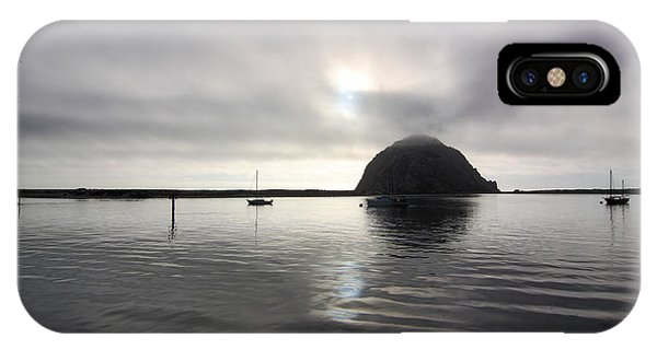 Morro Rock After Sunset IPhone Case