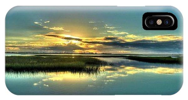 Morse Park Landing Sunrise IPhone Case