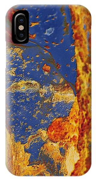 Mortal Bleu Flambe IPhone Case