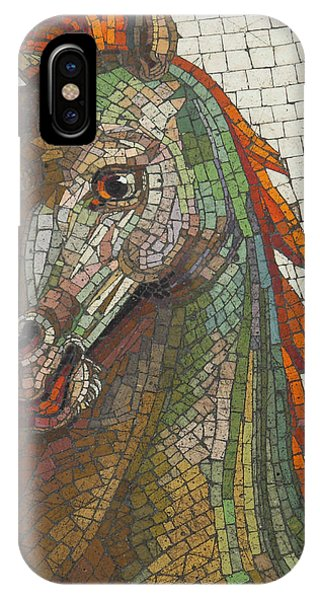 Mosaic Horse IPhone Case