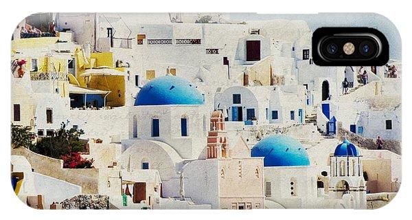 Mosaic - Santorini IPhone Case