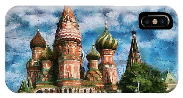 Moscow Kremlin  IPhone Case