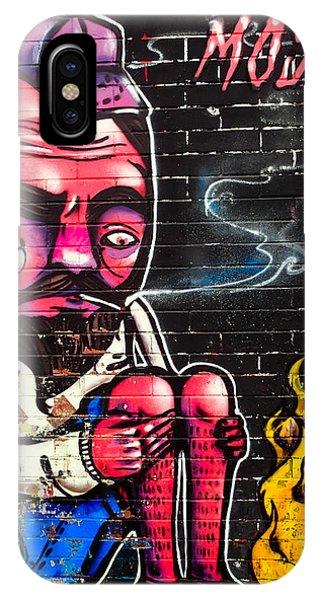 Mosh Wall Art IPhone Case