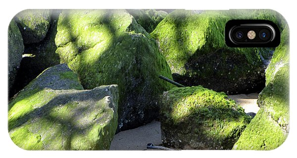 Moss On The Rocks IPhone Case