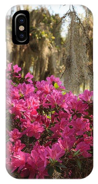 Moss Over Azaleas IPhone Case