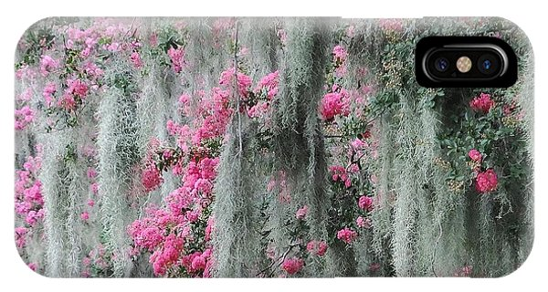 Mossy Crepe Myrtle IPhone Case