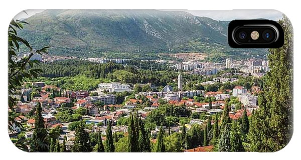 Mostar iPhone Case - Mostar, Bosnia And Herzegovina. Overall by Ken Welsh