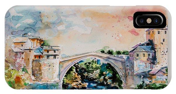 Mostar Bridge IPhone Case