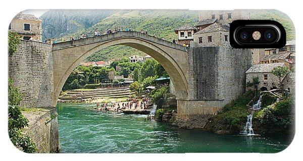 Mostar iPhone Case - Mostar by Rasko Aksentijevic