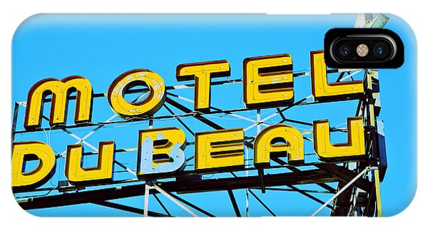Motel Du Beau IPhone Case