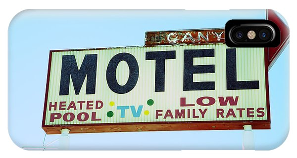 Motel Sign IPhone Case