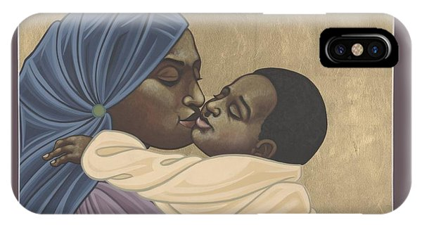 Mother And Child Of Kibeho 211 IPhone Case
