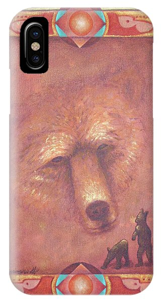 Mother Bear IPhone Case